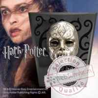 Harry potter replique masque mangemort bellatrix lestrange Noble Collection -nob07325