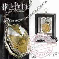 Harry potter replique medaillon de salazar serpentard Noble Collection -nob08133