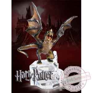 Harry potter statuette suedois a museau court 9 cm Noble Collection -nob7063