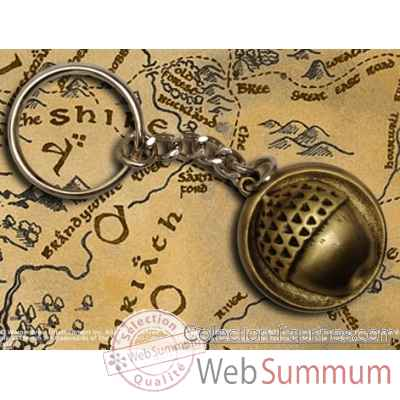 Hobbit - bouton de bilbo porte-cles Noble Collection -NN1266