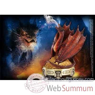 Hobbit - bruleur d\'encens smaug Noble Collection -NN7526