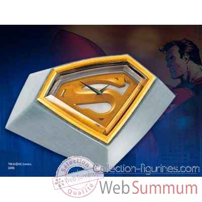 Horloge de bureau - superman returns™ Noble Collection -NN4143