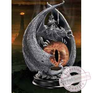 Le seigneur des anneaux statuette fury of the witch king 20 cm Noble Collection -nob9471