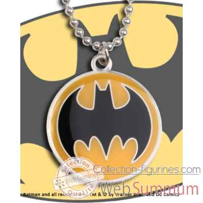 Pendentif batman bat signal Noble Collection -NNXT8388