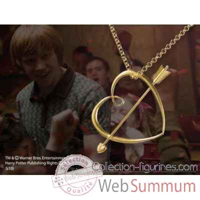 Pendentif coeur - ron weasley Noble Collection -NN8112