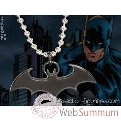Pendentif embleme batman noir Noble Collection -NNXT8323