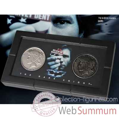 Piece de monnaie double face - harvey dent Noble Collection -NN4538