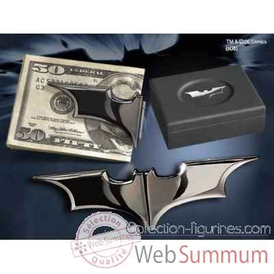 Pince a billet batarang™ - noire chromee Noble Collection -NN4936