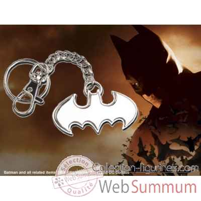 Porte-cles logo batman en acier Noble Collection -NNXT8362