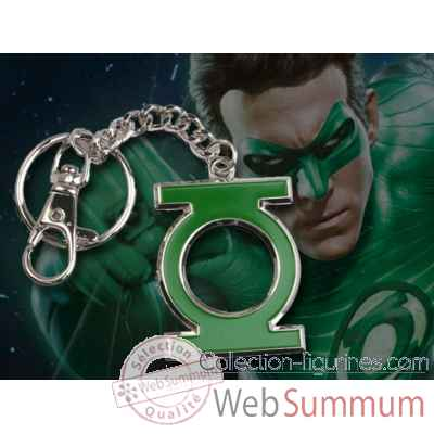 Porte-cles logo green lantern en couleur Noble Collection -NNXT8364