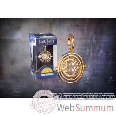Retourneur de temps - charm lumos - harry potter Noble Collection -NN1025