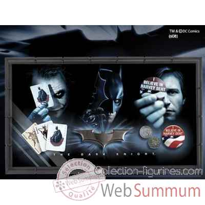 Set collector dark knight Noble Collection -NN4536