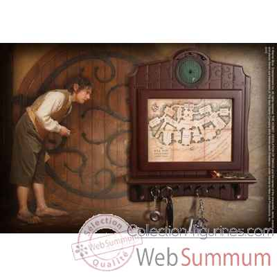 Support a cles mural - plan de cul-de-sac Noble Collection -NN2435