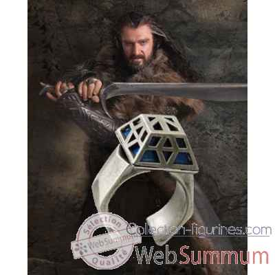 Thorin oakenshield™ - anneau nain acier inoxydable Noble Collection -NN1592