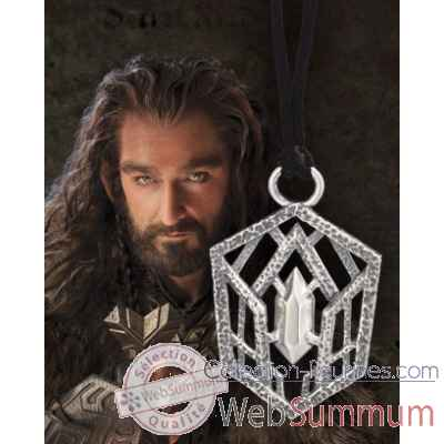 Thorin oakenshield™ - pendentif argent 925eme Noble Collection -NN1350