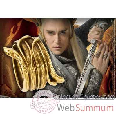 Thranduil - anneau serpent Noble Collection -NN1344