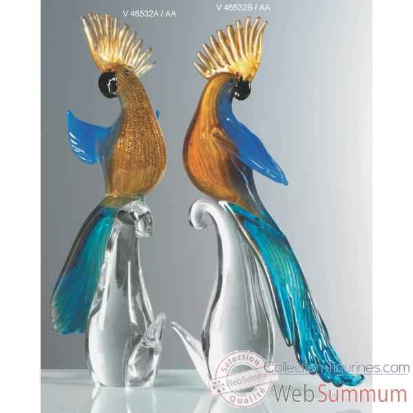 oiseau en verre de murano collection figurines. Black Bedroom Furniture Sets. Home Design Ideas