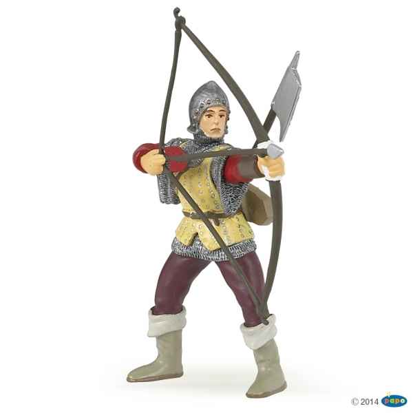 Figurine Archer rouge Papo -39384