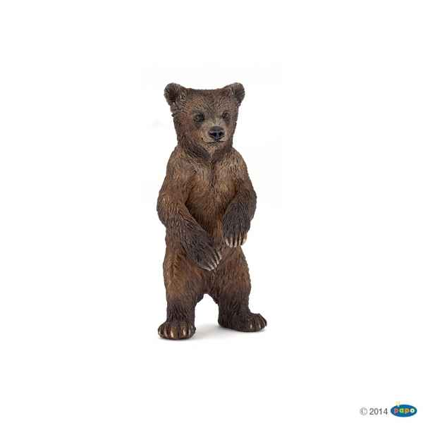 Figurine Bebe grizzly Papo -50163