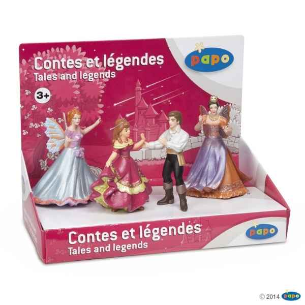 Figurine Boite presentoir contes & legendes 1 (4 fig) Papo -80500