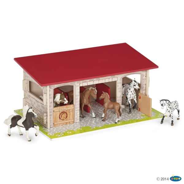 Figurine Box a chevaux Papo -60104