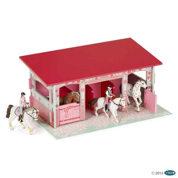 Figurine Box a chevaux fashion Papo -60105