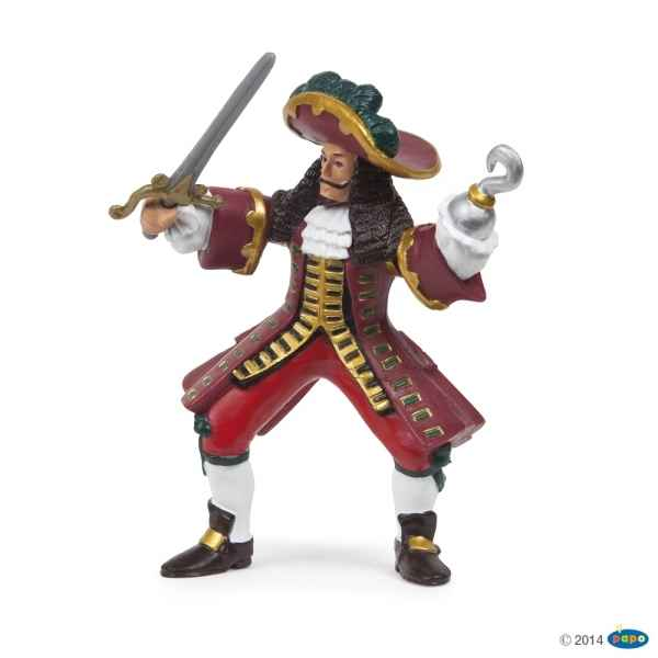 Figurine Capitaine pirate Papo -39420