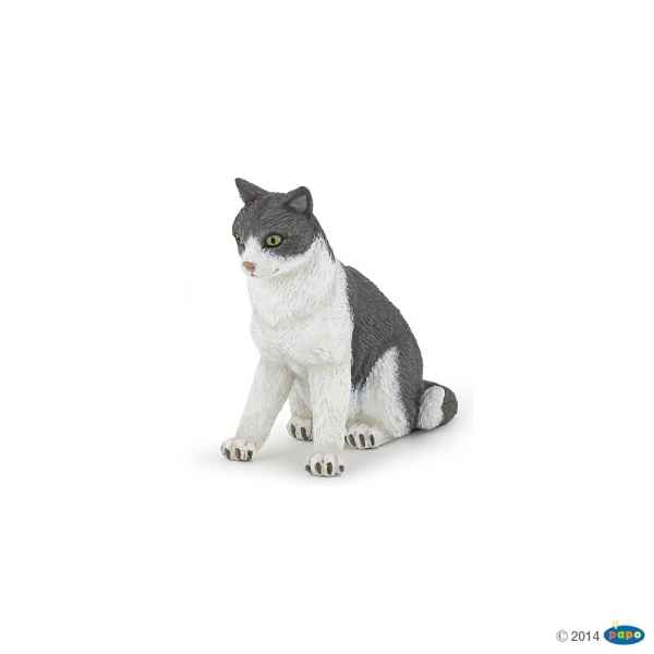 Figurine Chatte assise Papo -54033
