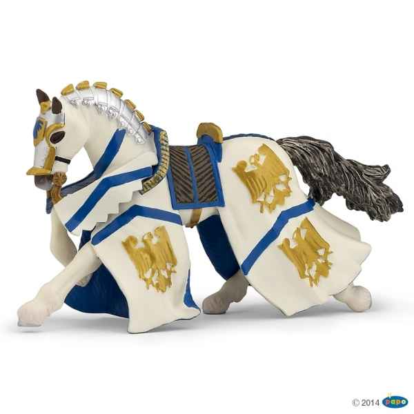 Figurine Cheval du chevalier guillaume Papo -39336