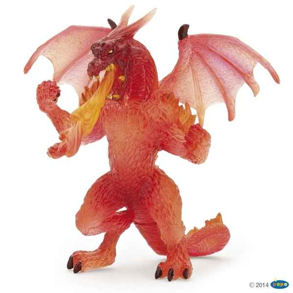 Figurine Dragon de feu Papo -38981