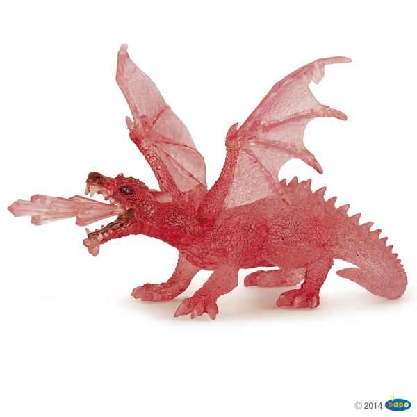 Figurine Dragon rubis Papo -36002
