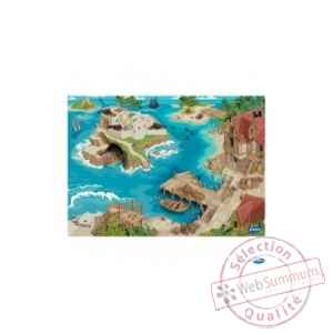 Figurine tapis de jeu pirate Papo -60505