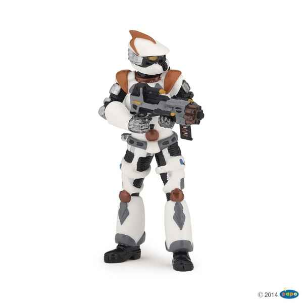 Figurine Galactic warrior Papo -70100