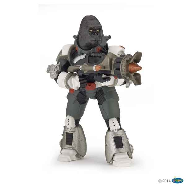 Figurine Gorilla warrior Papo -70124