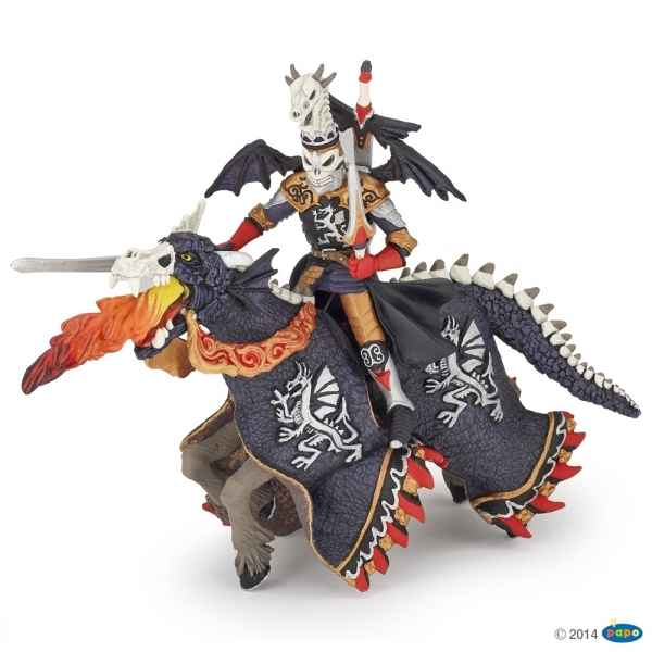 Figurine Guerrier dragon et son cheval Papo -36000