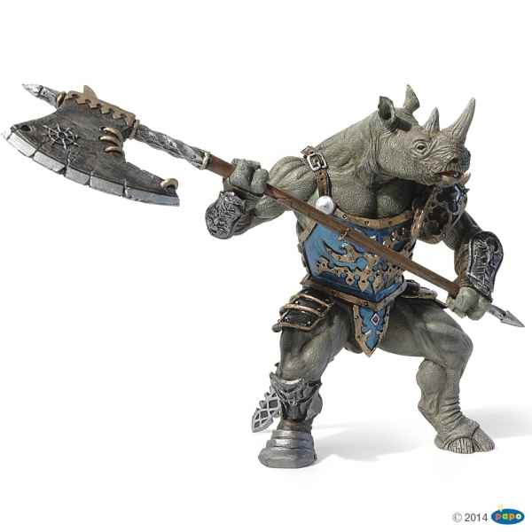 Figurine Mutant rhinoceros Papo -38946