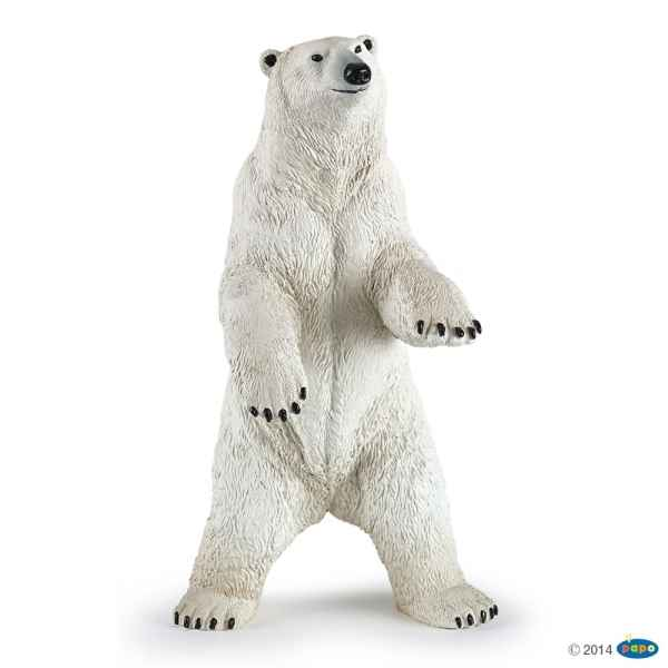Figurine Ours polaire debout Papo -50172