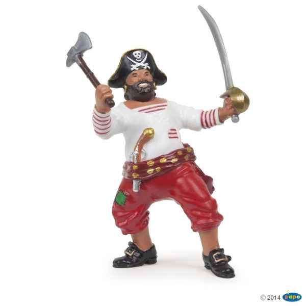 Figurine Pirate a la hache Papo -39421
