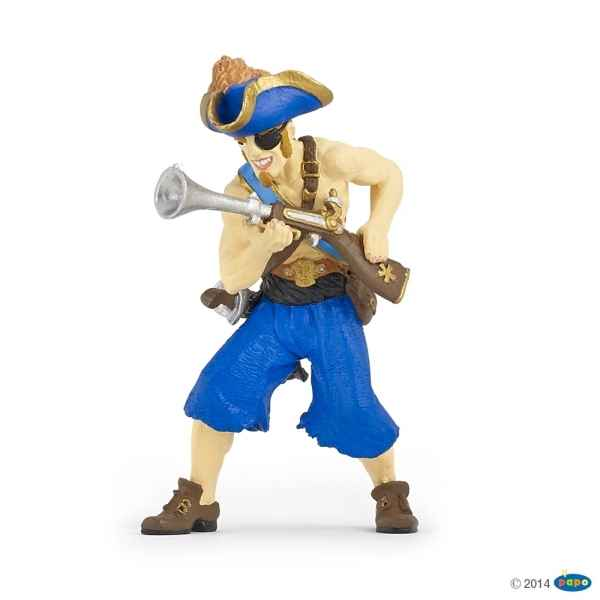 Figurine Pirate a l\'escopette Papo -39468