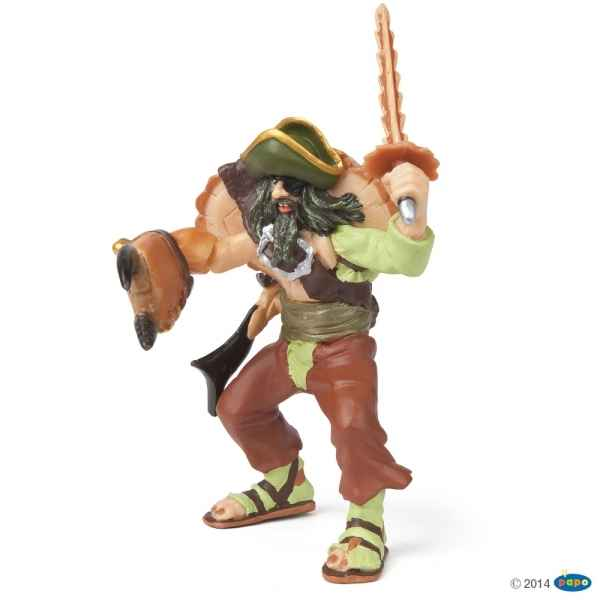 Figurine Pirate mutant crabe Papo -39463