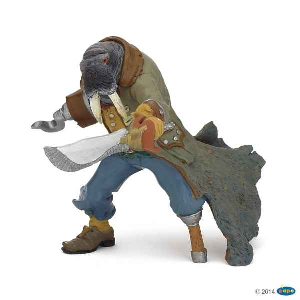Figurine Pirate mutant morse Papo -39462