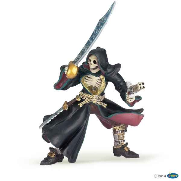 Figurine Pirate tete de mort Papo -38919