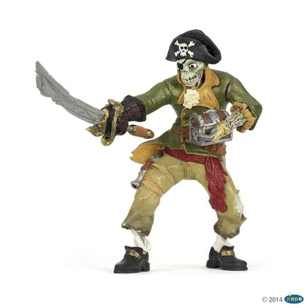 Figurine Pirate zombie Papo -39455