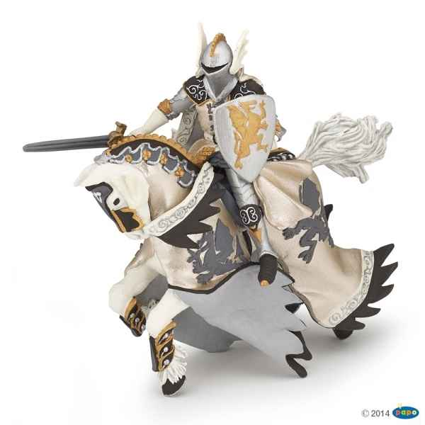 Figurine Prince au dragon et son cheval Papo -39777