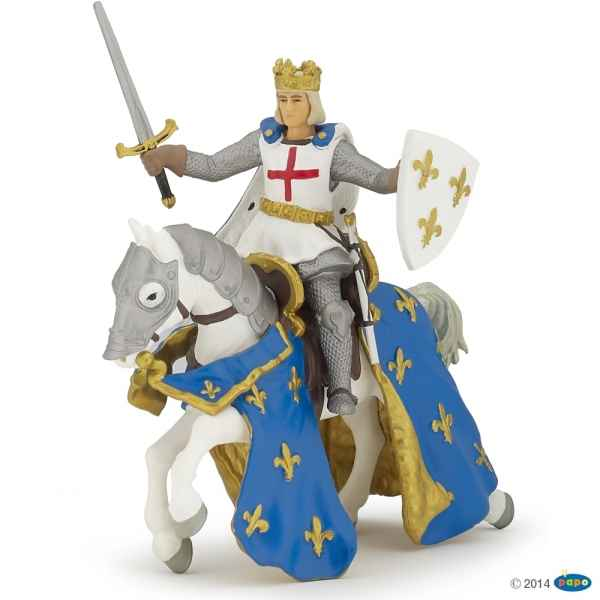 Figurine Saint louis et son cheval Papo -39841