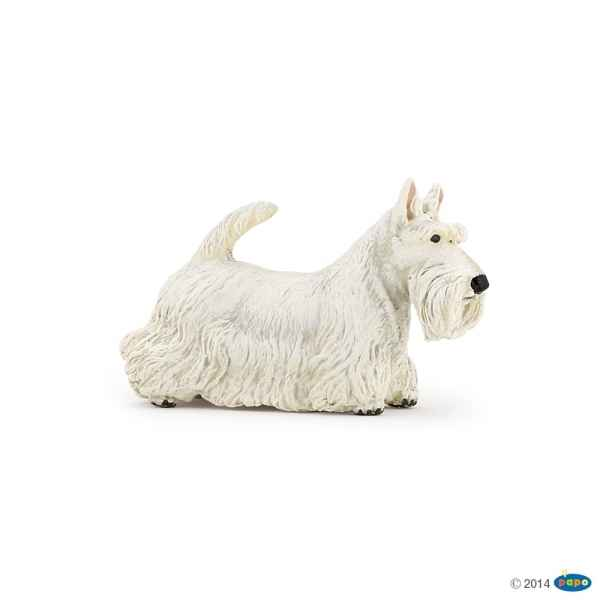 Figurine Scottish terrier blanc Papo -54028