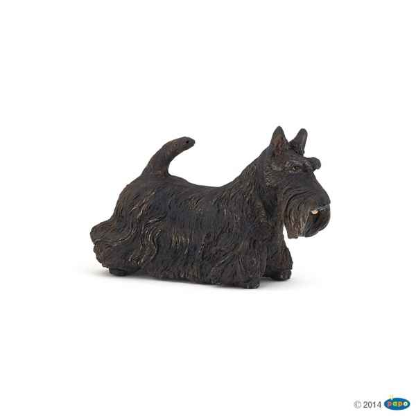 Figurine Scottish terrier noir Papo -54032