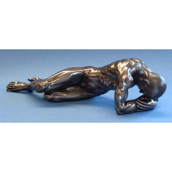 Figurine body talk - lying man large - bt51