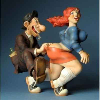 Figurine humoristique aw, come on de crumb -CRU01