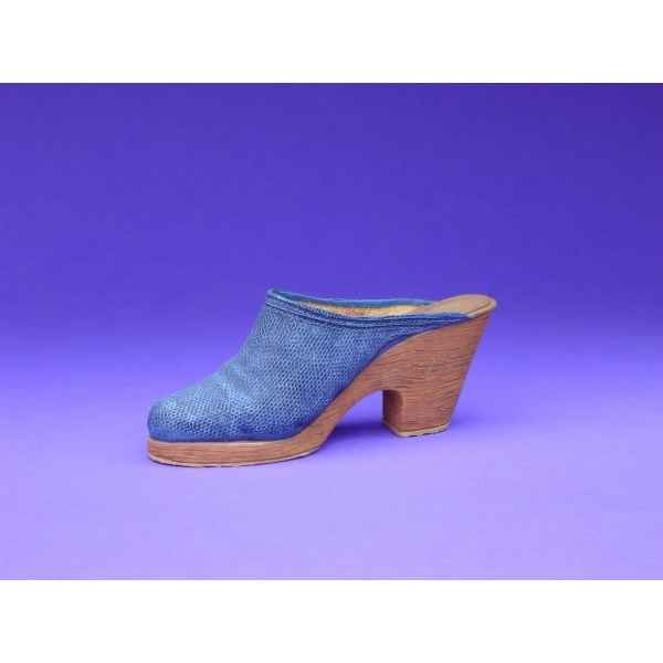 Figurine chaussure miniature collection just the right shoe denim blues  - rs25141